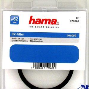 فیلتر لنز HAMA Filter lenz 62MM
