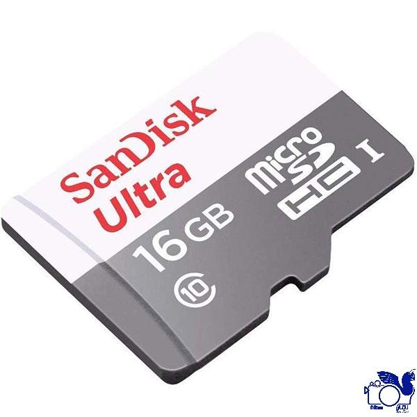 کارت حافظه microSDHC سن دیسک مدل Ultra با ظرفیت 16 گیگابایت