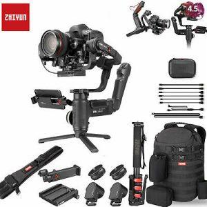مشخصات فنی کامل دوربین کرین 3 ژیون