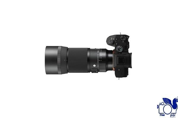 امکانات لنز دوربین سیگما 105mm f/2.8 DG DN Macro برای سونی