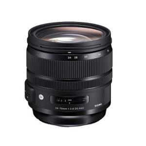 ویژگی های لنز دوربین سیگما 24-70mm f/2.8 DG HSM برای کانن