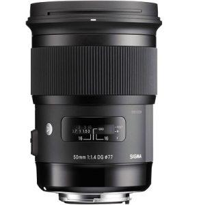 لنز دوربین سیگما 50mm f/1.4 DG HSM برای سونی
