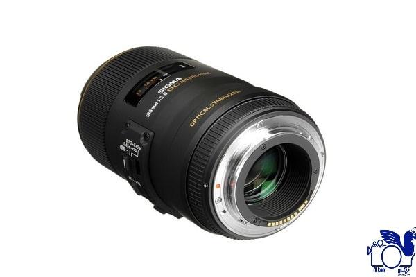 امکانات لنز دوربین سیگما 105mm F/2.8 Macro EX DG OS HSM برای سونی