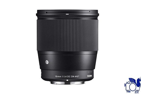 لنز دوربین سیگما 16mm F/1.4 DC DN/C برای کانن