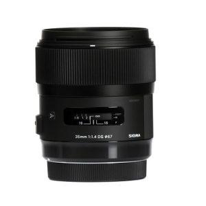 لنز دوربین سیگما 35mm f/1.4 DG HSM برای کانن