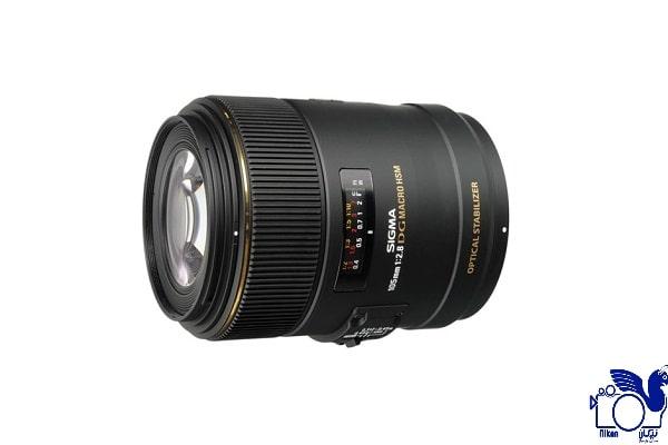 مشخصات لنز دوربین سیگما 105mm F/2.8 Macro EX DG OS HSM برای سونی