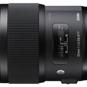 کاربرد لنز دوربین سیگما 50mm f/1.4 DG HSM