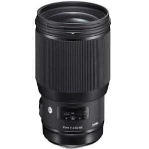 لنز دوربین سیگما 85mm F/1.4 DG HSM برای کانن