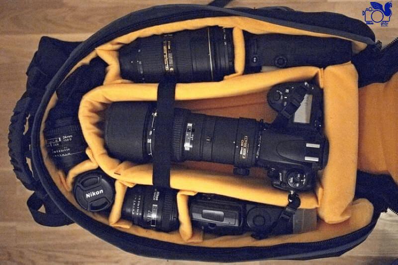 کیف دوربین از تجهیزات عکاسی مورد نیاز در سفر