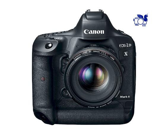 4)Canon EOS-1DX Mark II